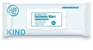 4% continence wipes