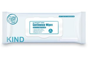 4% Dimethicone continence wipes